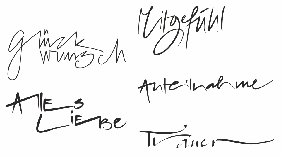 Allerhand Handschrift Atelier Kasdesign Ch
